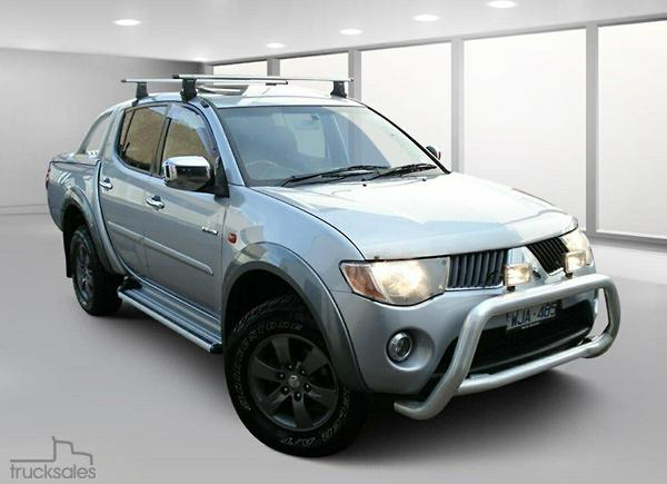 Mitsubishi Utes And 4wds Ute Cars Tradies Automatic For Sale In