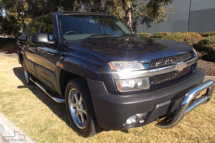 Chevrolet Avalanche Trucks for Sale in Australia - trucksales com au