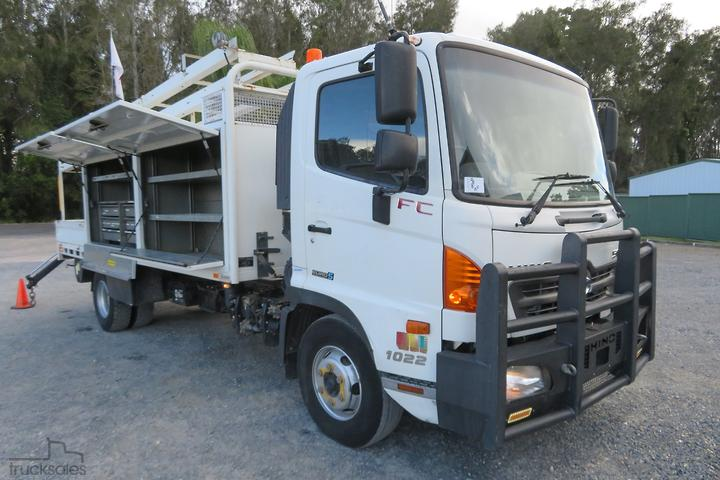 Hino Service Vehicle Trucks For Sale In Australia