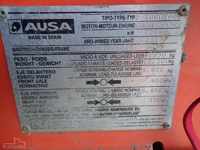 AUSA Trucks for Sale in Australia - trucksales com au