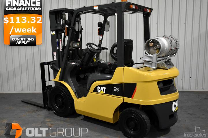 Caterpillar Forklifts & Telehandlers for Sale in Australia