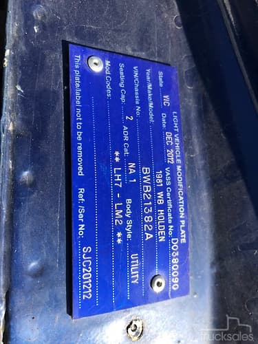 Holden Ute Cars - Tradies Between $20,000 & $500,000 Rear
