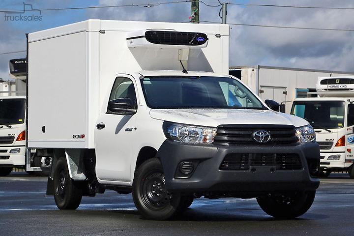 Toyota Scully RSV 1 Ton 2 Pallet High Back Hilux Auto Freezer Trucks