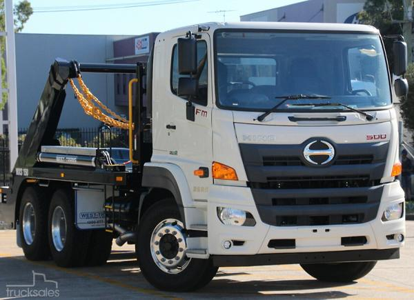 c75e14d806 Hino Skip Bin Loader Trucks for Sale in Australia - trucksales.com.au
