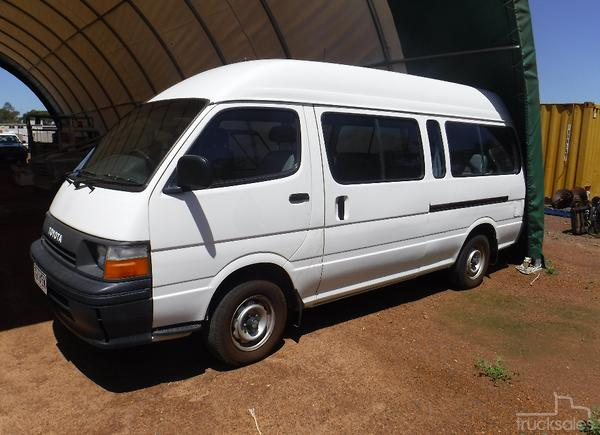 aa1efdee99 Toyota HIACE COMMUTER 120 Buses for Sale in Australia - trucksales ...