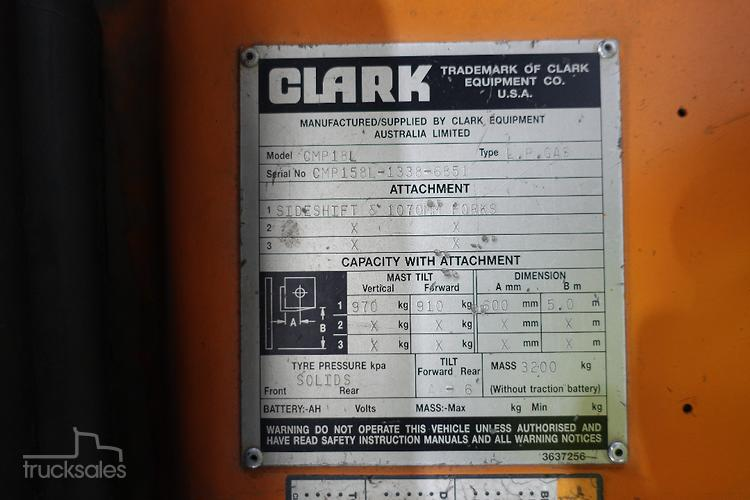 Clark Trucks for Sale in Australia - trucksales com au