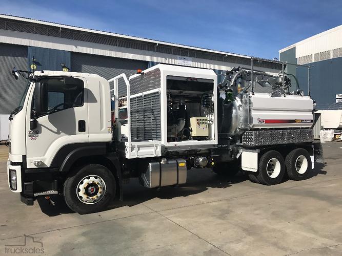 Vacuum & Pressure Trucks for Sale in Australia - trucksales