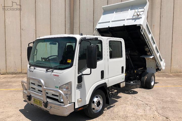 Isuzu NPR 300 Tipper Trucks for Sale in Australia - trucksales com au