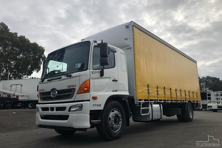 Hino Curtainsider Trucks for Sale in South Australia