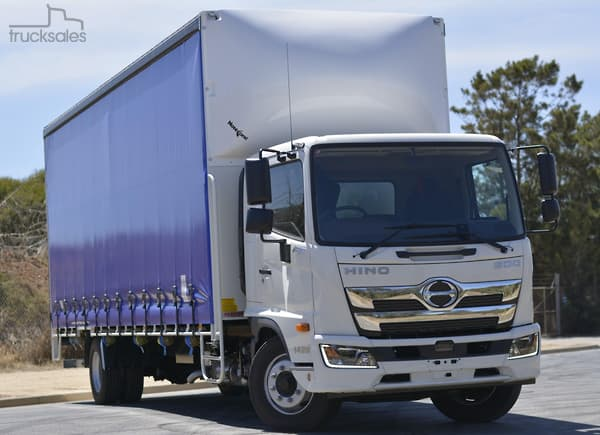 Hino Curtainsider Trucks In South Australia