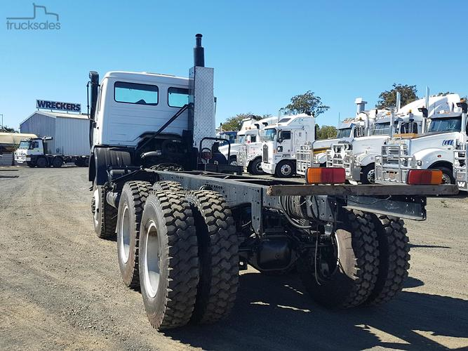 Mercedes-Benz 2628 6x6 Cab Chassis Trucks for Sale in Queensland