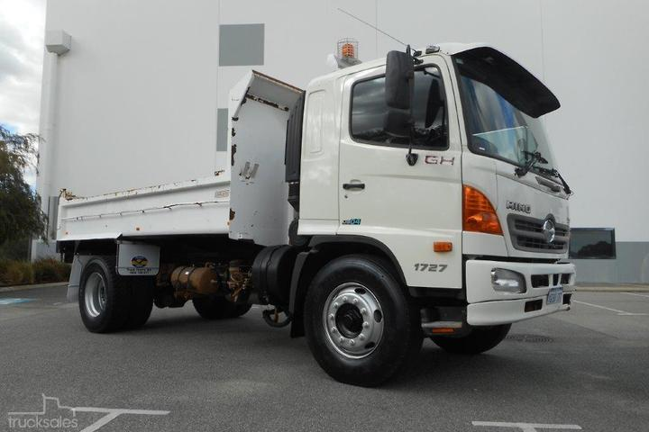 Hino Tipper Trucks for Sale in Western Australia, Australia
