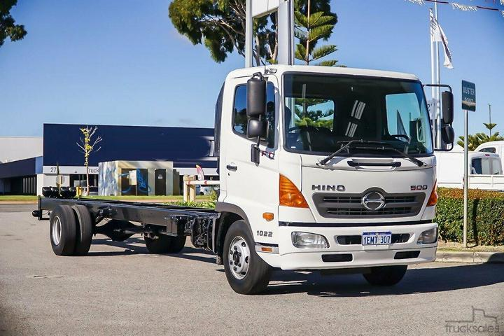 Hino Cab Chassis Trucks for Sale in Western Australia
