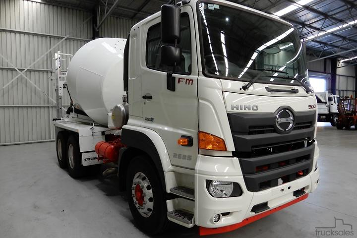 Hino Concrete Trucks for Sale in Australia - trucksales com au