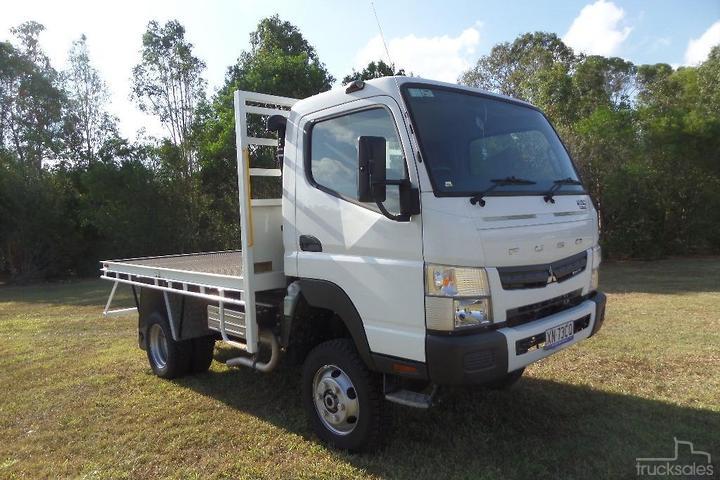 Fuso All Wheel Drive Trucks for Sale in Australia