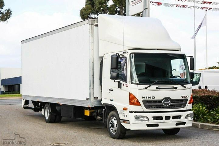 Hino Pantech Trucks for Sale in Western Australia, Australia