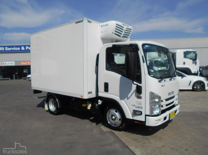 refrigerator truck. 2016 isuzu nlr 45-150 short refrigerator truck