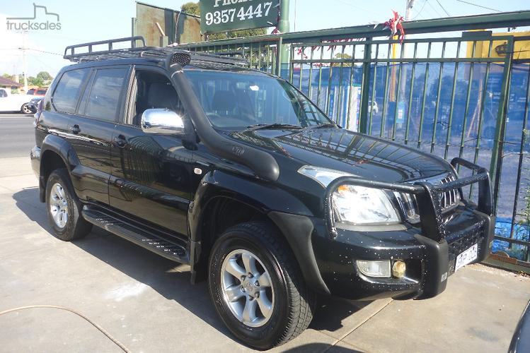 2003 Toyota Landcruiser Prado GXL Manual 4x4