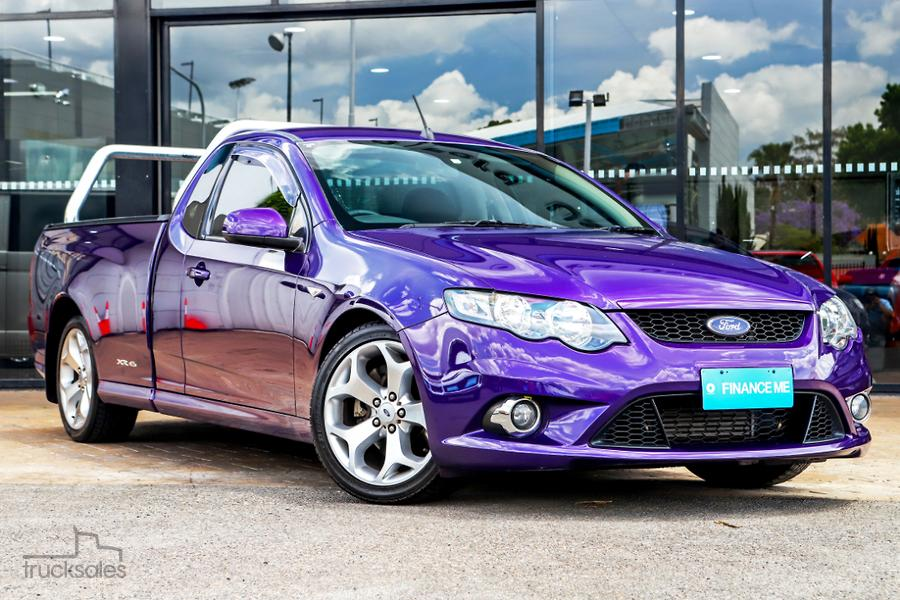 2011 Ford Falcon Ute XR6 Turbo FG MkII Auto Super Cab-OAG-AD