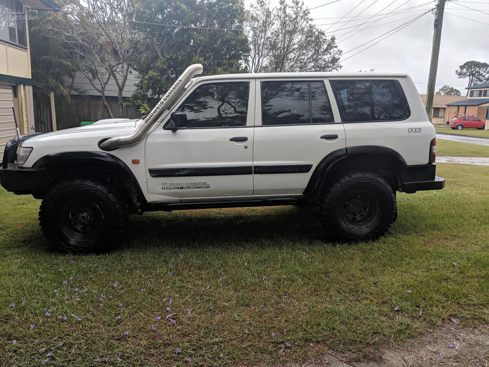 2001 Nissan Patrol DX GU III Manual 4x4 MY02-SSE-AD-5893483