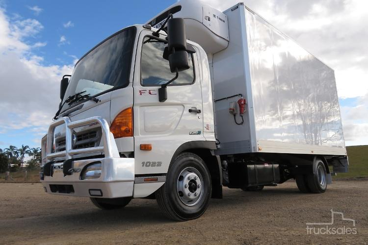 2016 Hino Fc 1022 Auto 6 Pallet Refrigerated 98 000 Klms Only