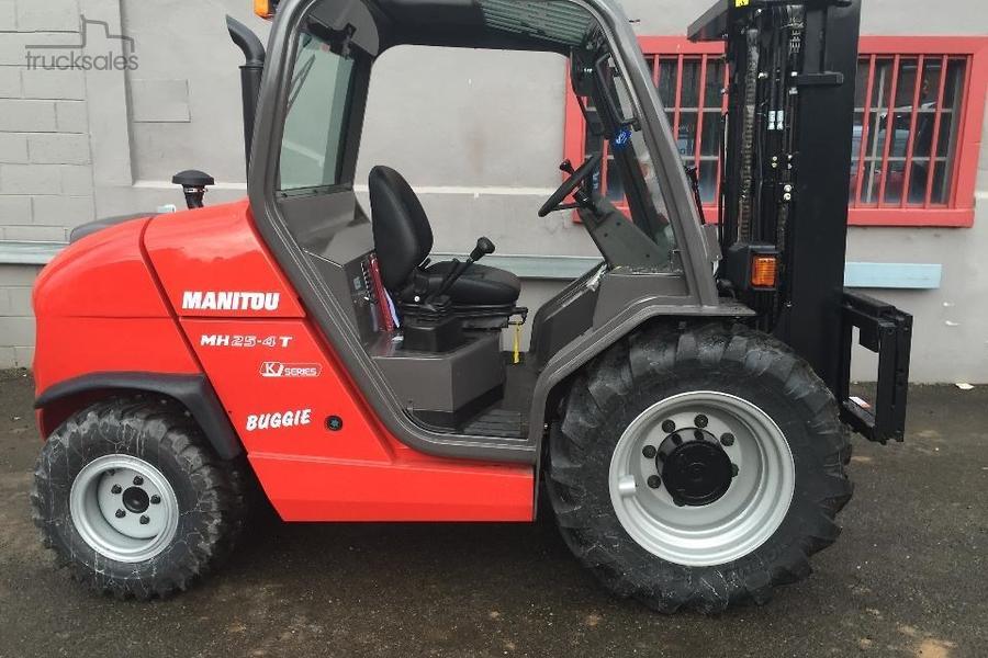 2018 Manitou MH25-4T buggie- 4x4 forklift-OAG-AD-306741 - trucksales